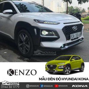 độ dèn Hyundai Kona