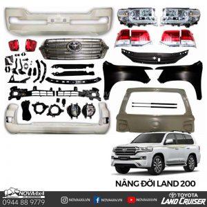 phụ kiện lên đời xe Land Cruiser 200