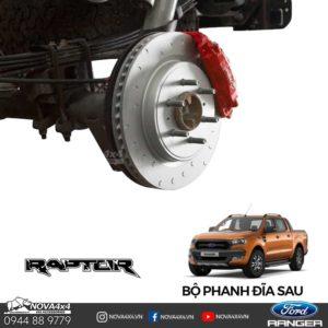 độ phanh đĩa sau Ford Ranger