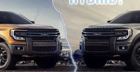 Ford Ranger & Everest sẽ sử dụng động cơ Hybrid