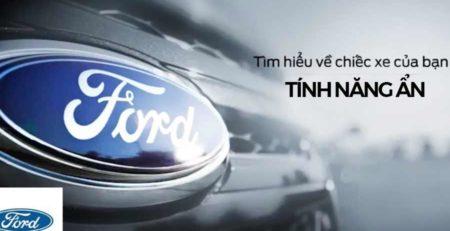 tính năng ẩn xe Ford