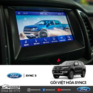 giao diện tiếng việt xe Ford