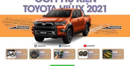 Phụ kiện Toyota Hilux 2021