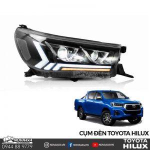 cụm đèn pha Toyota Hilux