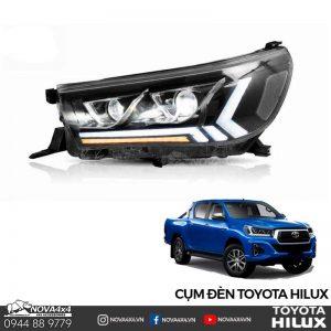 đèn pha Toyota Hilux