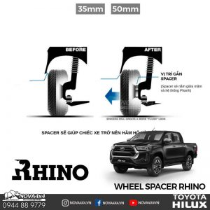 Wheel Spacer Hilux