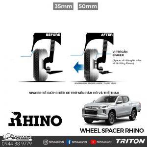 Wheel Spacer Triton