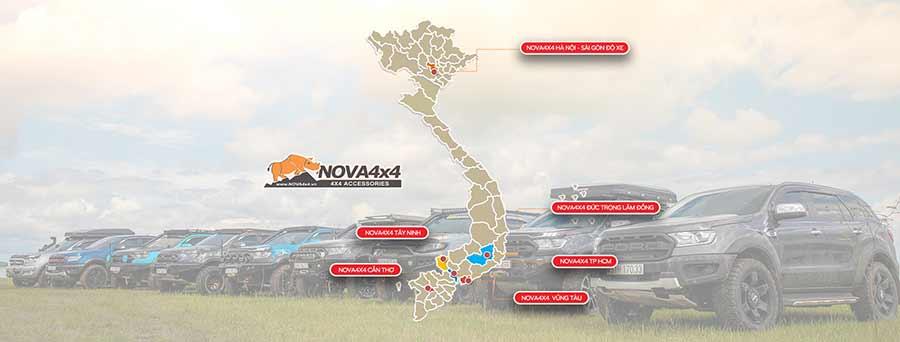 Hệ thống cửa hàng Nova4x4