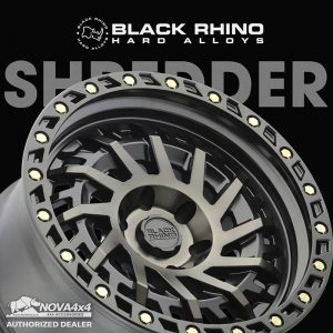 Mâm Black Rhino Shredder