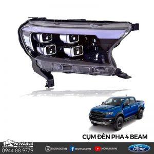 Cụm đèn 4 Bi Ford Ranger