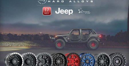 Mâm độ cho xe Jeep