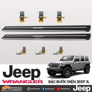 bậc bước điện Jeep