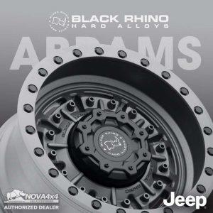 Mâm Black Rhino Abrams