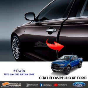 cửa hít cho xe Ford Ranger