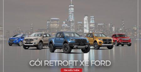 gói retrofit cho xe Ford