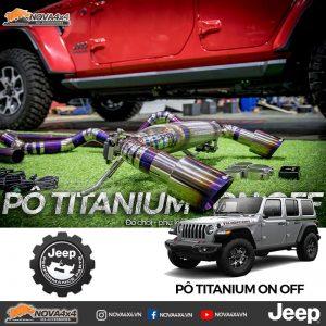Pô Jeep 2 chế độ On Off