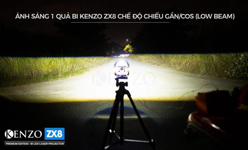 Ánh sáng Bi Led Kenzo Zx8
