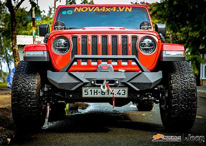 Độ Jeep tại Nova