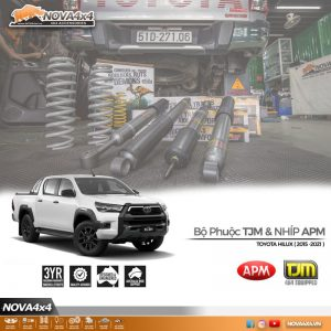Set giảm xóc êm ái cho Toyota Hilux