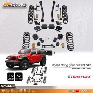 Kit nâng gầm Jeep